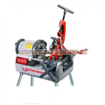 Rothenberger SUPERTRONIC 2 SE - kompakten stroj za rezanje navojev