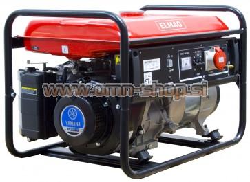 Elmag Elektro agregat ES 6000WD/25-AVR z YAMAHA motorjem MZ360L2U