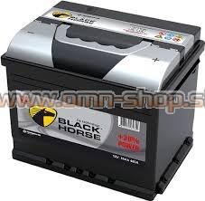 Black Horse 60Ah 12V L+ 510EN CALCIUM akumulator