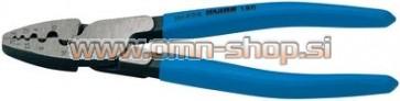 UNIOR KLEŠČE ZA KABELSKE KONTAKTE ART.424/4P Za neizolirane kabelske priključke. 180 mm (0,25-16 mm2)