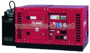 Elmag Elektro agregat SEBSS 6500WDE s HONDA-motorjemGX390 (super-zvočno izoliran)