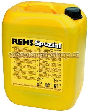 Rems SPEZIAL 5 L olje za rezanje navojev / hladilna tekočina