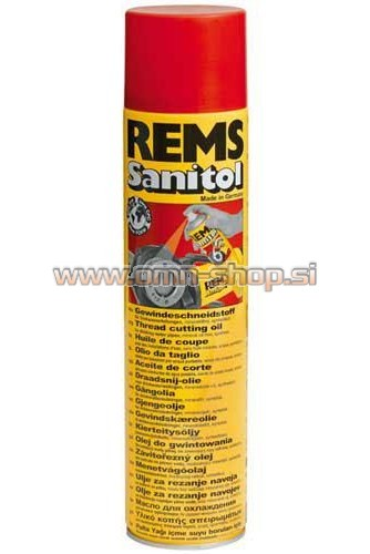 REMS SANITOL OLJE ZA REZ. SANITOL SPRAY 600ML