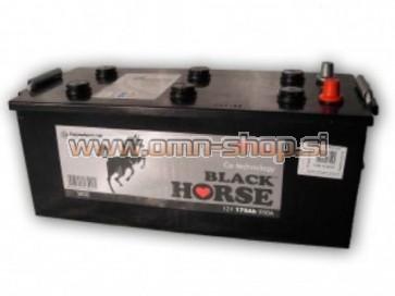 Black Horse 180Ah 12V L+ 1000EN CALCIUM akumulator