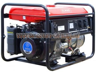 Elmag Elektro agregat ES 5500WE/25-AVR z YAMAHA motorjem MZ360L3U-K