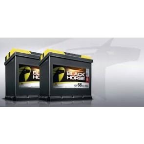 Black Horse 55Ah, 12V D+ 480EN CALCIUM akumulator