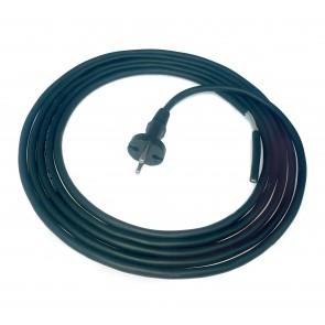 Priključna vrvica 2X1.0mm 4.1m gumi kabel z vtikačem