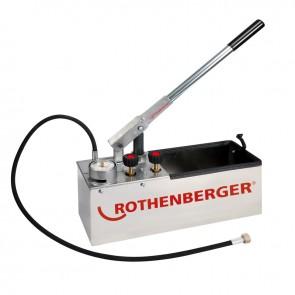 Rothenberger RP 50-S INOX - robustna precizna črpalka za preizkušanje