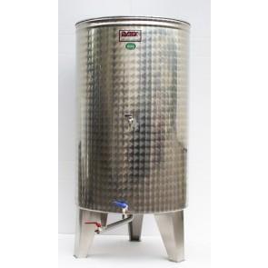 Posoda 600L - Konus / 2 x pipa / 1 x ventil