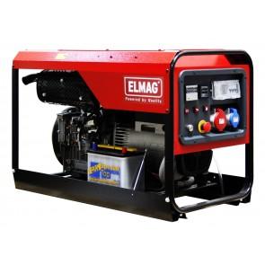 Elmag Elektro agregat  SED 10000WDE z Lombardini motorjem 25LD425