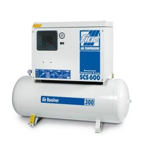 Fiac Batni kompresor v protihrupmen ohišju SCS 500-300