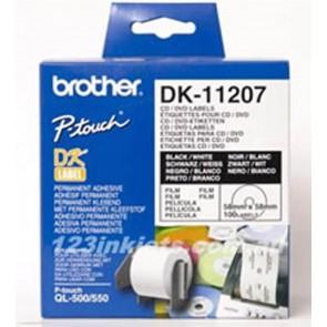 Brother DK11207 CD/DVD nalepke