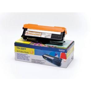 Brother Toner TN320Y, yellow, 1.500 strani HL 4140/50/4570 DCP9055/270 MFC9460/9970