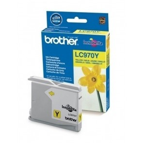 Brother Kartuša LC970Y, yellow, 300 strani DCP135/150/235 MFC235/263