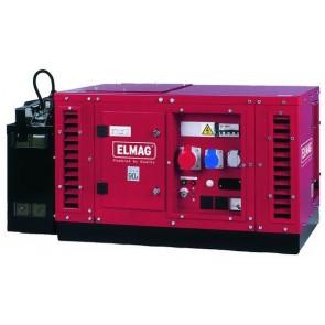 Elmag Elektro agregat SEBSS 12000WDE s HONDA-motorjemGX630 (super-zvočno izoliran)