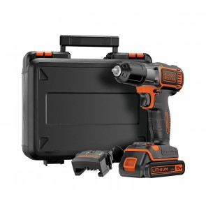 Black & Decker ASD184K akumulatorski autosense vrtalnik /vijačnik 18 V 1,5 Ah