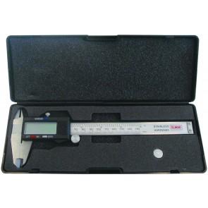 Elmag Precizno digitalno pomično merilo 200 mm, DIN 852