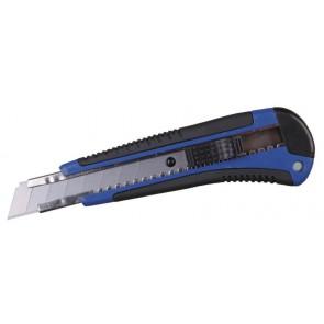 Tapetniški nož, ročaj gumiran 18 mm
