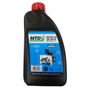 Olje SAE 5W-30HD 1,0 L zimsko za snežne freze