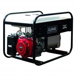 Elmag Elektro agregat SEBS 6000W/25 s HONDA-motorjemGX390  (zvočno izoliran)