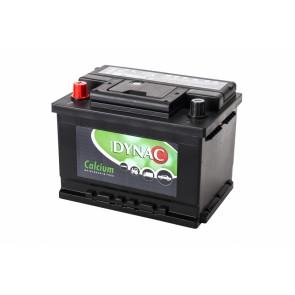 DYNAC LMFV 55565L 55Ah, 12V L+ CALCIUM akumulator