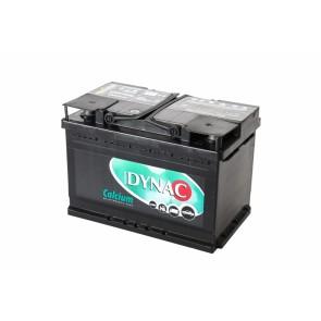 Dynac LMFV 57412L 74Ah, 12V D+ CALCIUM akumulator